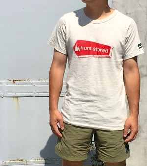 hs-01 LIFE 『hunt stored. OG LOGO』 T-SHIRT