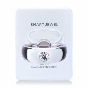 Smart Jewel‐Inray Thick-White-4月‐17SJ6-1-WHTCRY