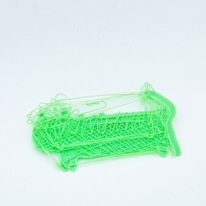 Lazy Plastic Brooch #7