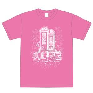 Tシャツ ピンク(2つの扉)