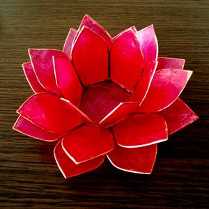 ロータスランプ L ピンク