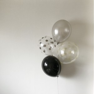 Balloon / dot & color mix