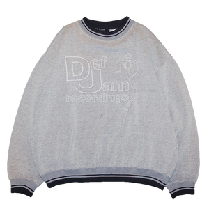 """Def Jam Recordings"" Vintage  Stitch Sweat Used"