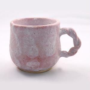 桃志野 マグカップ 弐  Pink Shino Mug II