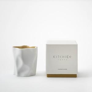 心地よい香りのキャンドル Crinkle Candle -KITCHIBE- KITCHIBE