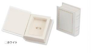 ブック型アクセサリーギフトボックス ピアス・リング・ネックレス兼用 6個入り GA-080