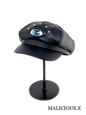 eye casquette / deep blue (big size)