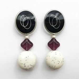 Button Earring C