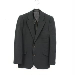 ANSNAM / アンスナム | 強塩縮加工コットン 3Bテーラードジャケット | - | ブラック | メンズ