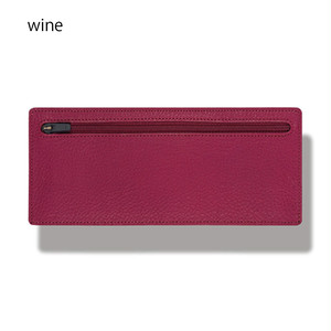 立てて使えるポーチ standing pouch 0921 wine