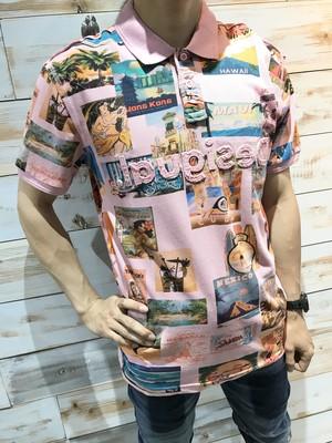 BENEDICTグラフィックポロシャツ【Desigual】