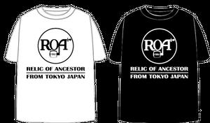 ROA 'RCA' T-SHIRTS (BLACK/WHITE)