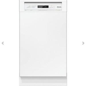 ミーレ 食器洗い機 G 4820 SCU (ホワイト/45CM)標準ドア装備タイプ