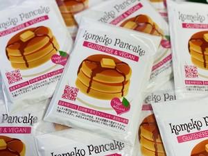 【ネコポス全国送料無料】ベジハート米粉のパンケーキミックス無糖120gx3個セット
