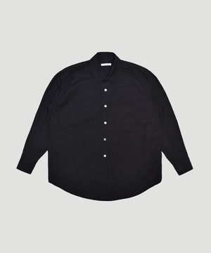 OUR LEGACY Coco Shirt Black Compact Poplin M4192CB