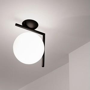FLOS-IC LIGHTS C/W2 ブラック(専用ランプ)【要電気工事】