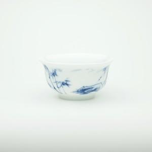 【景徳鎮】湯飲み 竹 磁器