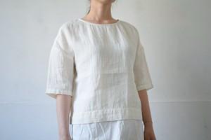 half sleeve T-blouse / miho umezawa