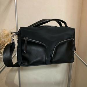 2ウェイ ボックス型 シャープショルダーバッグ【送料無料】