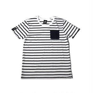 ☆ラスト1点!!☆Tシャツ「deck」(ネイビー/T-016)