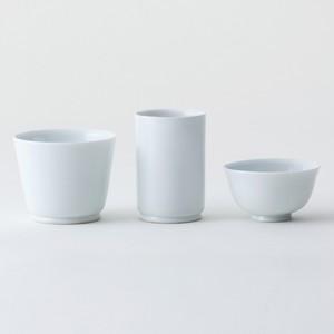 陶宋窯【地酒三杯】白磁(3点セット)