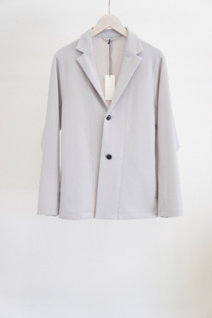 cord pique jacket -LIGHT GRAY- / THEE
