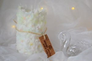 【HOSHINO CANDLE】 ピュアな気持ちキャンドル ラベンダーの香り