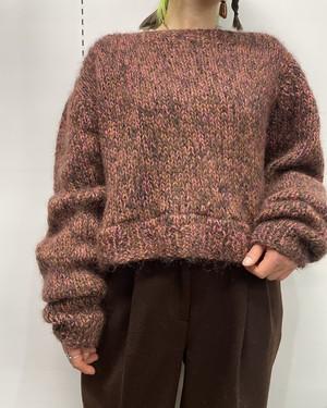 long sleeve knit sweater 【ML位】