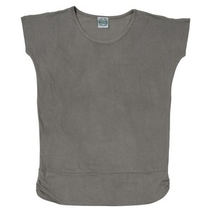 アーユルヴェーダ染め(スパイス染め)Tシャツ グレー