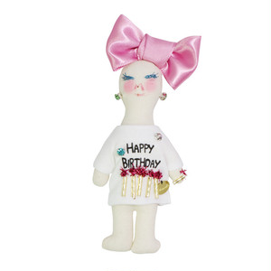 DEMODEE JYAKSYO HAPPY BD pink-white