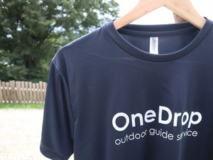 OneDropレタードライTシャツ