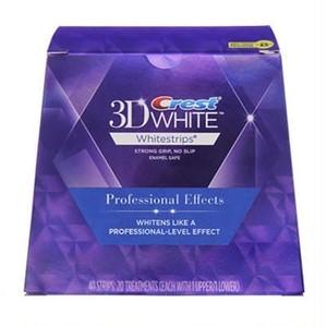 クレスト 3D ホワイトストリップス プロフェッショナル エフェクツ 20セット 40枚入正規品 海外直送