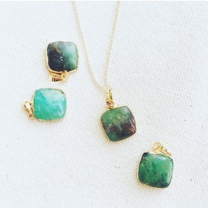 14kgf Australian jade necklace