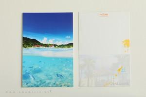 奄美ポストカード「夏の空、夏の海」