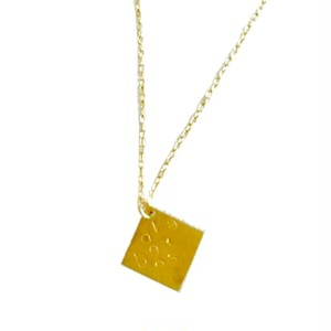 "diabetes necklace""SQUARE"""