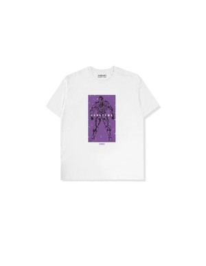 "XENO x BAKI Collaboration T-shirt ""HANAYAMA"" White"