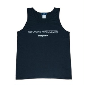 Gym Time  Tank Top (BLK×WHT)
