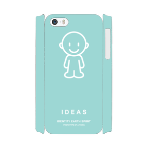 IDEAS/iPhone5/5s/SEケース 801-グリーン