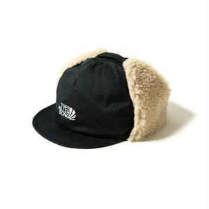 TIGHTBOOTH × KILLERBONG TBKB EAR FLAP CAP BLACK タイトブース ボアキャップ