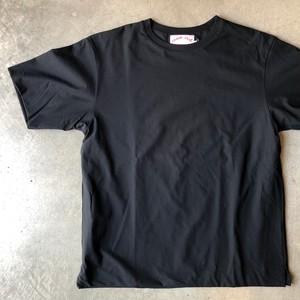 comm. arch. 〔コム アーチ〕  ダブルレイヤード Tシャツ (ブラック)