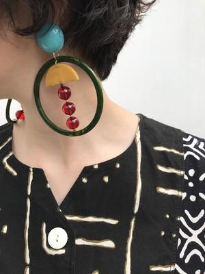 Vintage  desiner's Bakelite  earrings