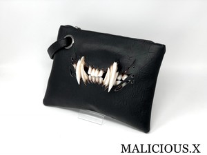cat fang clutch bag