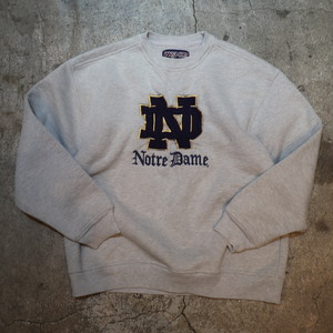 JANSPORT Notre Dame embroidery sweat