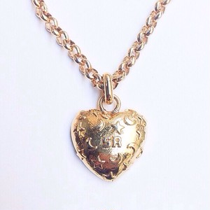 """SONIA RYKIEL"" heart pendant[n-42]"