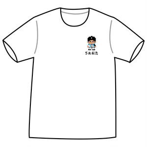 ドットファイターズ 「おおた」 Tシャツ ホワイト