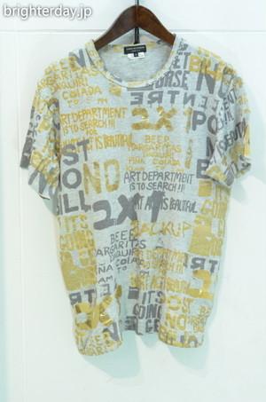 COMME des GARCONS HOMME PLUS 総柄箔Tシャツ