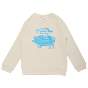 PORK FRONT SWEAT for Kids P-20/IVORY