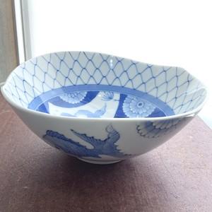金魚絵中鉢