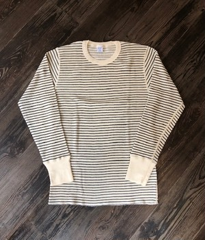 "GICIPI   ""WAFFLE THERMAL L/S TEE(BORDER)"""