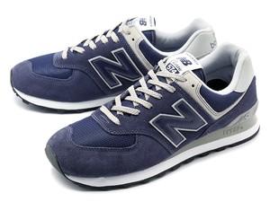 【MEN】 new balance ニューバランス ML574 EGN NAVY ネイビー ランニングシューズ スニーカー Shoes